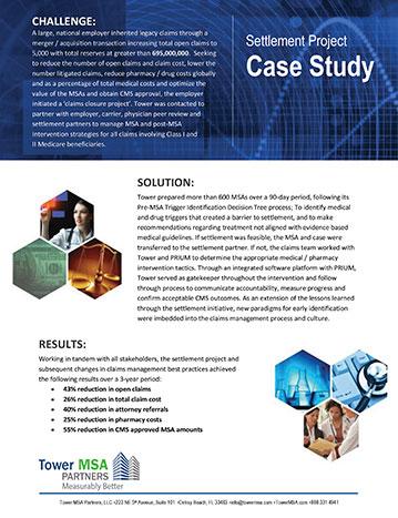 Settlement Project Case Study PDF
